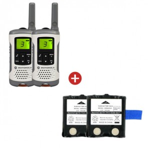 Motorola TLKR T50 + Two Spare Batteries