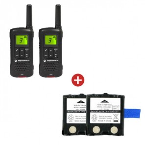 Motorola TLKR T61 + Two Spare Batteries