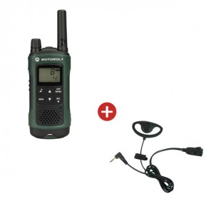 Motorola TLKR T81 + D Shaped Ear Piece