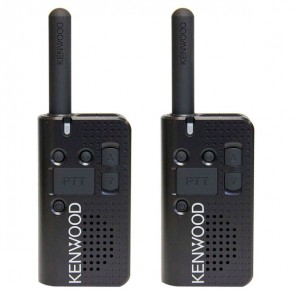 Kenwood PKT-23 License Free Two-Way Radio Twin Pack