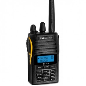 Midland CT 710 Dual Band VHF/UHF + Ear Hook Kit
