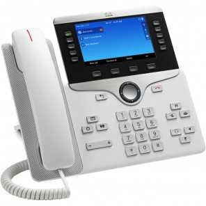 Cisco 8861 VoIP Desktop Phone White
