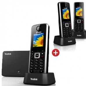 Yealink W52P IP DECT Phone Trio Pack