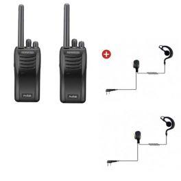 Kenwood TK-3501 Twin pack + Ear hook
