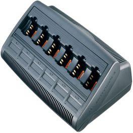 6 Bay Charger for Motorola GP330/340 Radios