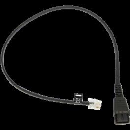 Jabra QD to RJ10 Bottom Cable