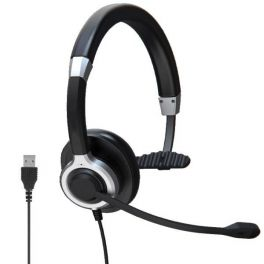 Mono USB Headset with Noise Cancellation