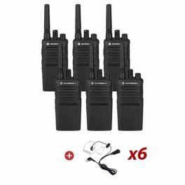 Motorola XT420 Six Pack + Bodyguard Kit