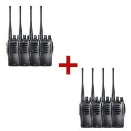 Midland G10 walkie-talkie 8-pack