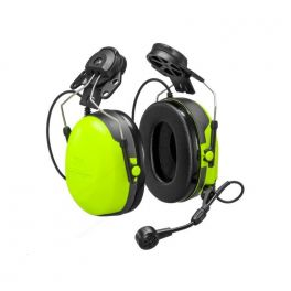 Cascos CH3 FLX2 Peltor con micrófono y PTT - ataduras cascos