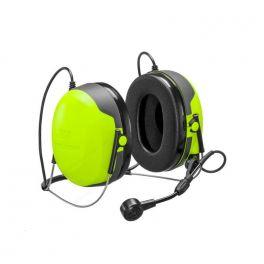 Cascos CH3 FLX2 Peltor con micrófono y PTT - contorno nuca