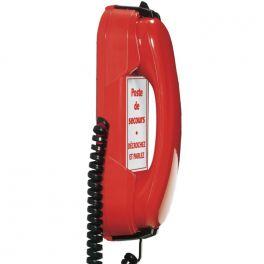 Depaepe HD2000 Emergency 3 Memories Telephone (Red)