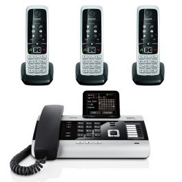 Gigaset DX800A + 3 Gigaset C430HX Handsets
