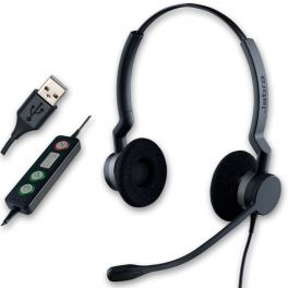 Jabra BIZ 2300 USB Duo Corded PC Headset