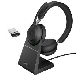 Jabra Evolve2 65 UC Duo USB-C avec base