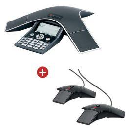 Polycom Soundstation IP 7000 PoE with Expansion Mics