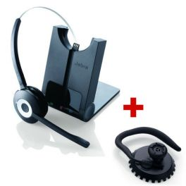 Jabra PRO 920 Cordless Headset + Jabra Pro Earhooks