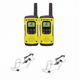 Motorola T92 Twin-pack + 2 Earpieces