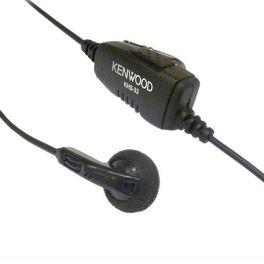 Kenwood KHS-33 Earbud With Inline PTT
