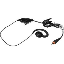 Earpiece with in-line push-to-talk