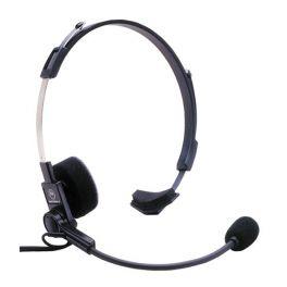 Headset with Boom for Motorola 1-Pin Radios