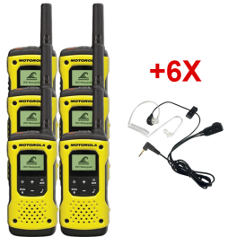 Motorola T92 Six-pack + 6 Earpieces