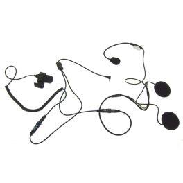Open Face Helmet Mic for 1-Pin Motorola Radios