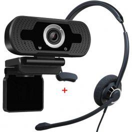 Cleyver HC60 USB with USB HD Webcam