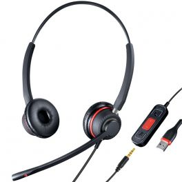 UBS headset double connection USB / Jack