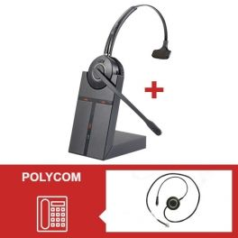Cleyver HW20 Headset Pack for Polycom