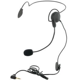 Neckband headset for Motorola 1-Pin Radios