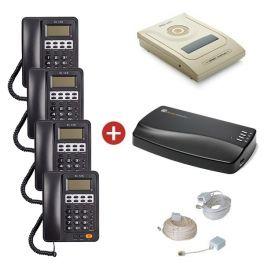 Orchid Telecom PBX 207 + Orchid MOH1 Unit