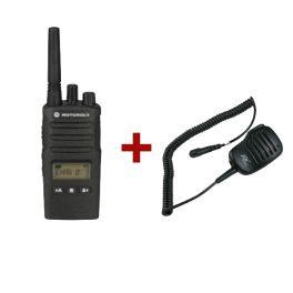 Motorola XT460 + JD500 MX HP Microphone