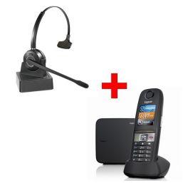 Gigaset E630 + HW10 Headset Pack