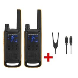 Motorola T82 EX Twin Pack + Y-cable USB Charger