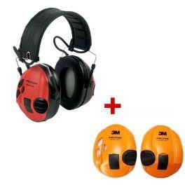 3M Peltor SportTac + Orange shells