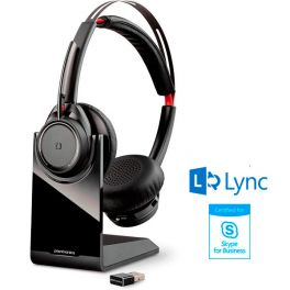 Plantronics Voyager Focus UC ML Headset With Base