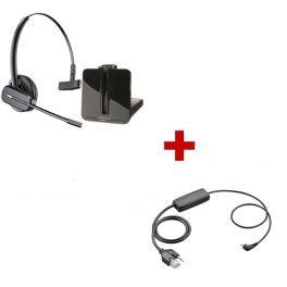 Plantronics CS540 Cordless Headset + APC-45 EHS Cable for Cisco