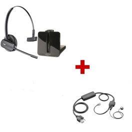 Plantronics CS540 Cordless Headset + APV-63 EHS Cable for Cisco