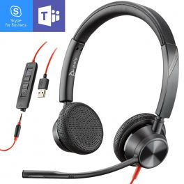 Poly - Plantronics Blackwire 3325 USB-A + Jack 3,5 MS