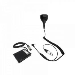 PTT Microphone for Motorola 2-Pin Radios