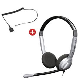 Sennheiser SH350 Headset +FREE CSTD01 Cable