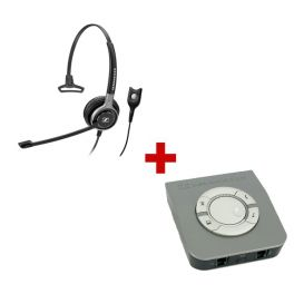 Sennheiser Century SC 630 Corded Headset + Sennheiser UI 770 Universal Interface Box