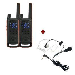 Motorola T82 Twin Pack + Bodyguard Kits