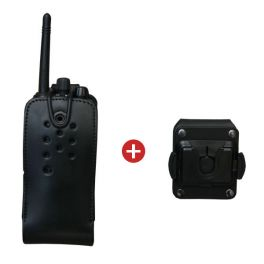 Professional Leather Two Way Radio Cover