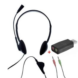 T'nB First Headset Double Jack with USB adaptor