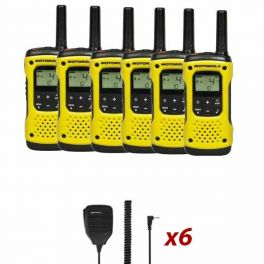 Motorola T92 Six-pack + 6 Speakermics