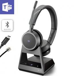 Poly Voyager 4220 Office, 2-Way Base, Teams, USB-C