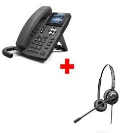 Fanvil X3S Deskphone + Fanvil HT202 Headset