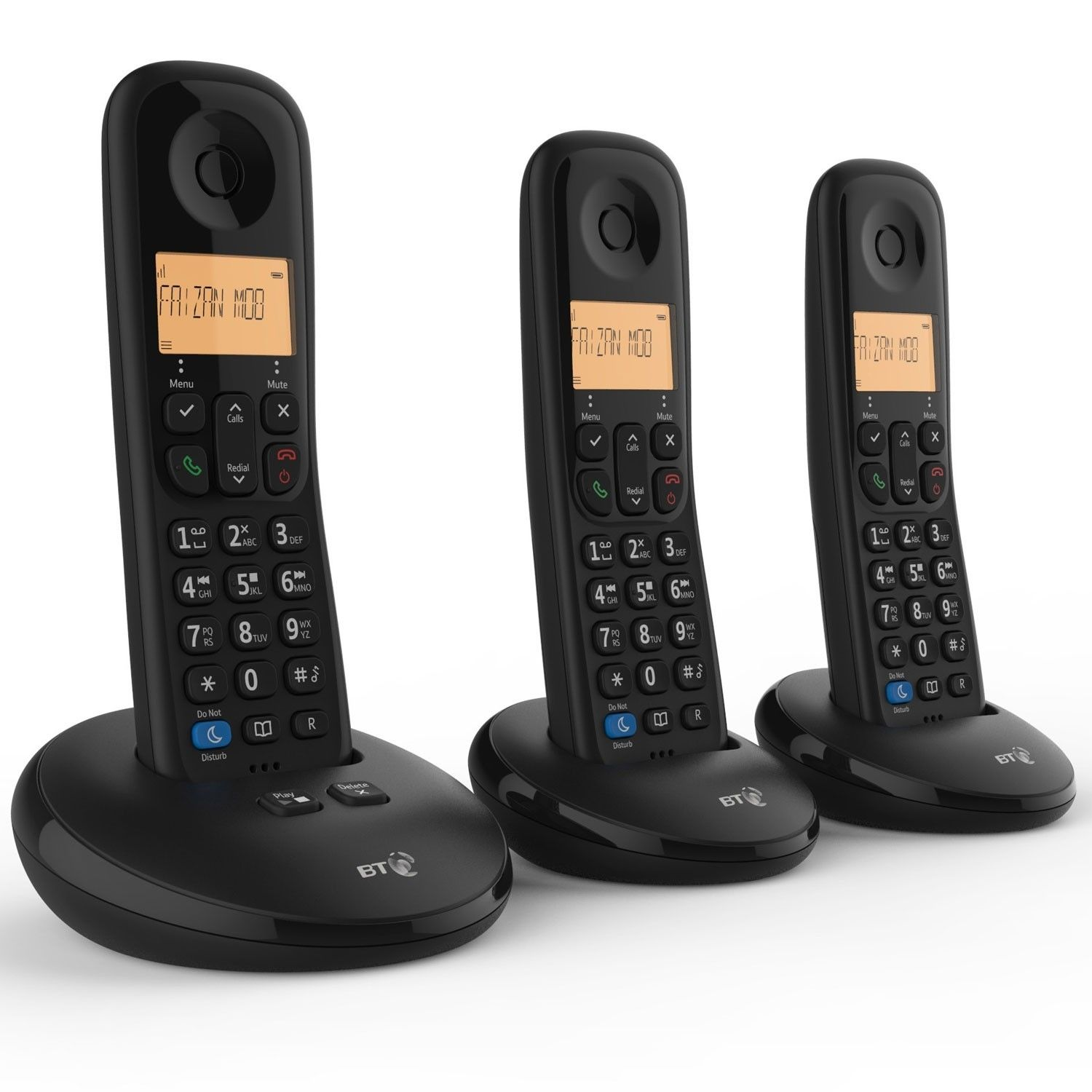 BT Everyday Phone without Answer Machine Trio